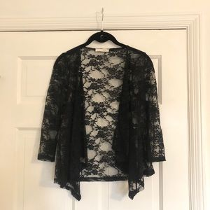 Lush lace coverup